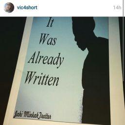 my book vic